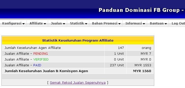 Komisyen Panduan Dominasi FB Group