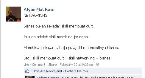 networking dan bisnes
