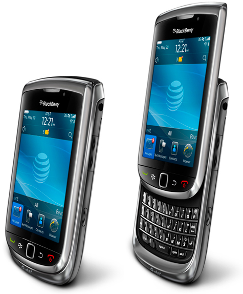 black berry torch