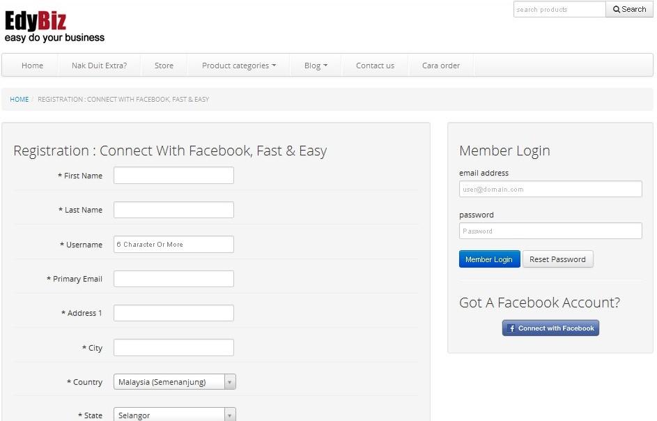 cara daftar affiliate EdyBiz