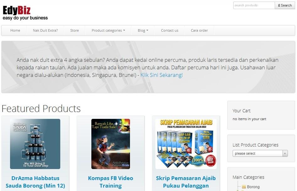 review laman web Edybiz