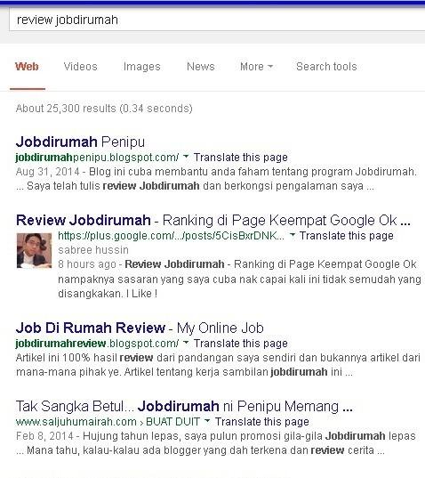 jobdirumah review pandangan dan pengalaman