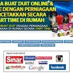 Komisyen Affiliate Bisnes Printing Tanpa Modal May 2015