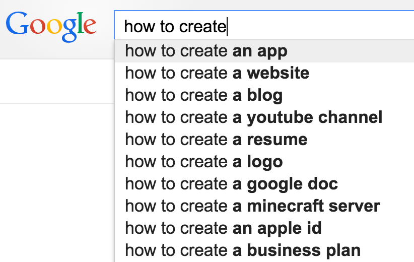 google-how-to-create