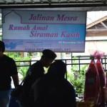 Program Sehari Bersama Warga Rumah Amal Siraman Kasih