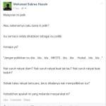 Saya Rasa Pelik Dengan Sikap Malaysian