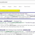 Kedudukan Artikel Review Jobdirumah Di Google
