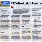 Contoh Soalan Rujukan Peperiksaan Pegawai Tadbir Diplomatik PTD M41