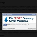 Bagaimana tulis blog sambil kumpul likes pada FB Fanpage secara automatik?