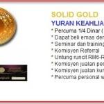 Bisnes Emas PowerGold – Suatu Permulaan Perniagaan Emas!