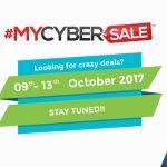 MYCYBERSALE 2017 – Masa TERBAIK untuk shopping online dan dapatkan tawaran DISKAUN HEBAT