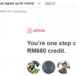 Satu LANGKAH untuk dapat RM660 Travel Credit dari Airbnb!