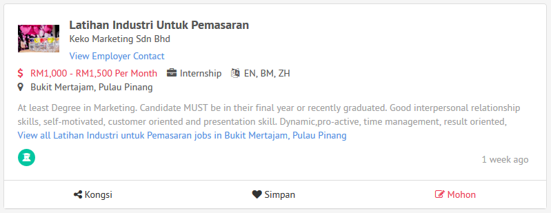 cari-tempat-internship