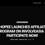 Program Affiliate Shopee – Cara join beserta dengan BUKTI Pendapatan