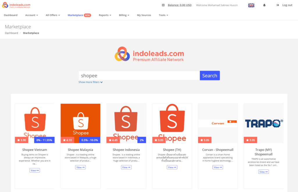 join-affiliate-indoleads-shopee