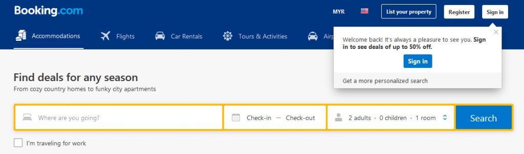 tempahan-booking