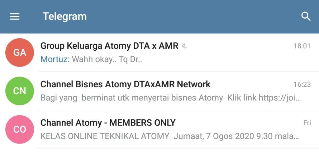 telegram-atomy